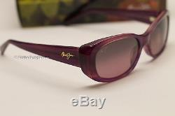 NEW Maui Jim Lilikoi Sunglasses RS258-28A Amethyst Rose Womens MSRP 299$
