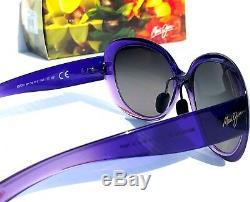 NEW Maui Jim NAHIKU Purple Violet POLARIZED Grey Grad Women's Sunglass GS436-28