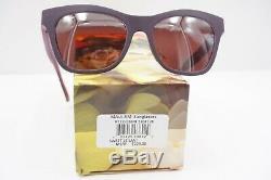 NEW Maui Jim POLARIZED Sunglasses SWEET LEILANI MAUVE Rose CAT EYE Womens
