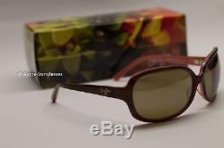 NEW Maui Jim Rainbow Falls Polarized Cinnamon & Bubblegum Sunglasses womens