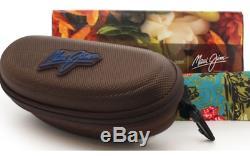 NEW Maui Jim SWEET LEILANI Brown Blue POLARIZED Grey Women's Sunglass 722-63