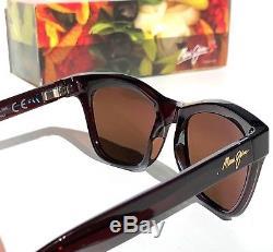 NEW Maui Jim SWEET LEILANI Brown POLARIZED HCL Bonze Women's Sunglass H722-28