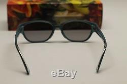 NEW Maui Jim Sunglasses Anini Beach Polarized Womens Black and Blue Rectangular