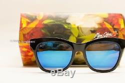 NEW Maui Jim Sunglasses Sweet Leilani Black Blue Hawaii Polarized womens UNISEX