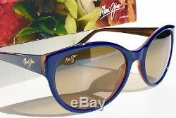 NEW Maui Jim VENUS POOLS Blue POLARIZED Bronze Womens Sunglass HS100-03D