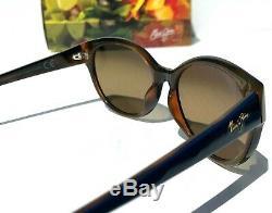 NEW Maui Jim VENUS POOLS Blue Root POLARIZED Bronze Womens Sunglass HS100-03d