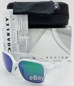 NEW Oakley Proxy sunglasses Polished White Jade Iridium AUTHENTIC green 9312-07