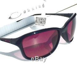 NEW Oakley She's Unstoppable POLARIZED G40 Blackberry Women's Sunglass 9297-05