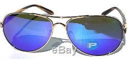 NEW Oakley TIE BREAKER GOLD Aviator POLARIZED Violet Womens Sunglass 4108-14