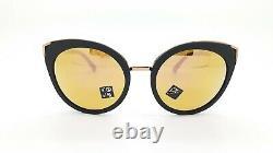 NEW Oakley Top Knot sunglasses Velvet Black Prizm Rose Gold Polarized 9434-0756