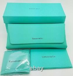 NEW Tiffany & Co. Frame RX Glasses TF2186 8274 52mm Black Blue Silver AUTHENTIC