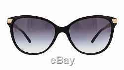 NWT Burberry Sunglasses BE 4216F 3001/8G Black / Gray Gradient 57 mm 30018G NIB
