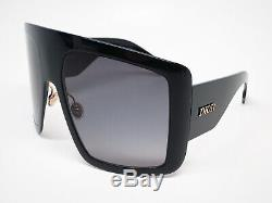 New Authentic Christian Dior DiorSoLight 1 8079O Black So Light Sunglasses