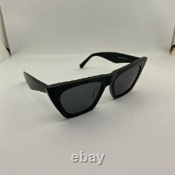 New Authentic Genuine CELINE EDGE CL 41468/S 807IR Black Sunglasses Eyewear 51mm