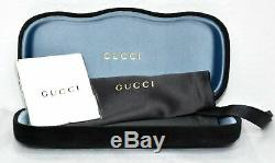 New Authentic Gucci GG0053S 001 Black with Grey Gradient GG 0053S Sunglasses