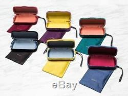 New Gucci Sunglasses Gg0328s 001 Black/gray Gradient Authentic