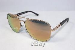 New MICHAEL KORS FIJI MK1003-1003R5 Rose Gold / Rose Gold Mirror Sunglasses