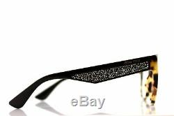 New MIU MIU MU06OV 7S01O1 Light Havana Brown Stardust EyeGlasses Frame Fast Ship