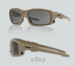 New Oakley 0OO 9329 SI BALLISTIC SHOCKTUBE 932904 TERRAIN TAN Sunglasses