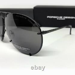 New PORSCHE DESIGN P8478 Titanium Matt Black Men Women Eyewear Sunglasses 69 MM