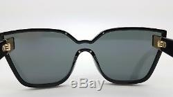 New Prada sunglasses PR16TS 1AB5S0 Black Gold cat eye butterfly PR 16 AUTHENTIC