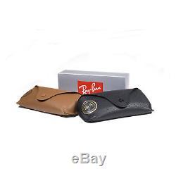 New Ray Ban Gatsby Sunglasses RB4256 Tortoise Gold 609255 46mm Blue Mirror Lens