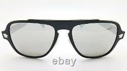 New Versace sunglasses VE2199 10006G 56mm Black Grey Silver Mirror AUTHENTIC NIB