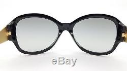 New Versace sunglasses VE4237 GB1/11 Black Grey Medusa 4237 CatEye cat AUTHENTIC