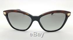 New Versace sunglasses VE4313 518011 57 Tortoise Gold Medusa 4350 Cateye GENUINE