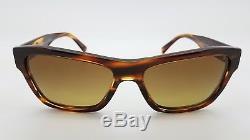 New Versace sunglasses VE4344 502513 56mm Tortoise Brown Medusa Heads AUTHENTIC