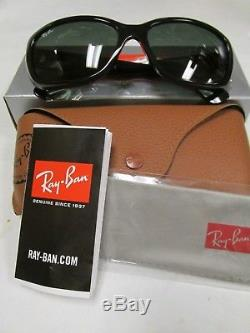 New -ray-ban Jackie Ohh Sunglasses Rb4101 601/58 Black/green Lens 58mm