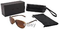 Oakley Split Time Women's Sunglasses OO4129-0658 Brown Gradient Polarized NIB
