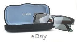 Occhiali da Sole GUCCI GG0340S nero grigio uomo donna 006