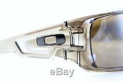 POLARIZED OAKLEY CRANKSHAFT Tungsten IRIDIUM Brown Smoke Sunglasses OO 9239-07