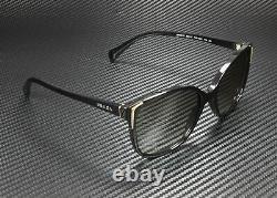 PRADA PR 01OS 1AB3M1 Conceptual Black Grey Gradient 55 mm Women's Sunglasses