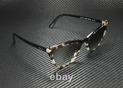 PRADA PR 01VS 3980A7 Catwalk Opal Spotted Brown Black Grey 56 Women's Sunglasses