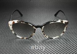 PRADA PR 02VS 3980A7 Catwalk Opal Spotted Brown Black Grey 54 Women's Sunglasses