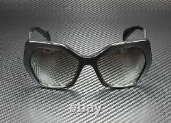 PRADA PR 16RS 1AB0A7 Heritage Black Grey Gradient 56 mm Women's Sunglasses