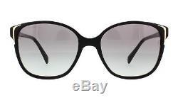 PRADA Sunglasses PR01OS 1AB3M1 Black 55MM