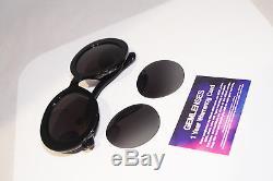PRADA Womens Designer Sunglasses Black Baroque SPR 27N 1AB-5W1 15245