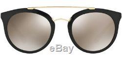 Prada Cinema Women's Vintage Pilot Sunglasses with Mirror Lens PR23SS 1AB1C0 52