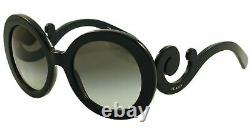 Prada Woman Sunglasses 0PR27NS 1AB3M1 BLACK