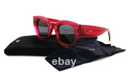 RARE NEW Genuine CELINE ZOE Ladies Fuchsia Crystal Sunglasses CL 41446/S MU1 IR