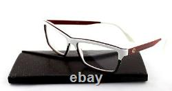 RARE New Authentic GUCCI White Green Red EyeGlasses Frame Glasses GG 3517 WXF