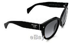 RARE New Genuine PRADA SWING Women Cat Eye Sunglasses SPR 17O PR 17OS 1AB 0A7