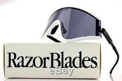 RARE New OAKLEY EYESHADE White Sport Shield Cycling Ski Sunglasses OO 9259-06