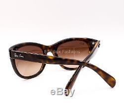 RAY-BAN 4216 710/13 Sunglasses Glossy Tortoise Brown Gradient 55mm NEW