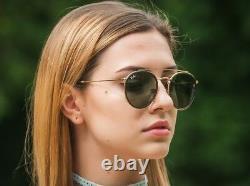 RAY BAN RB3647N Sunglasses DOUBLE BRIDGE 51/22 Gold Frame / Classic Lens