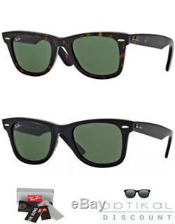 Ray Ban 2140 Occhiali Da Sole Wayfarer Rb2140 Originale Con Garanzia Sunglasses