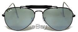 Ray Ban 3030 58 Outdoorsman Black Personalizzato Cobra Stallone Mirror Remix